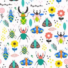 Scandinavian Style Bugs And Fl...