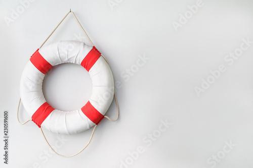 Fotografia safety torus with white background.