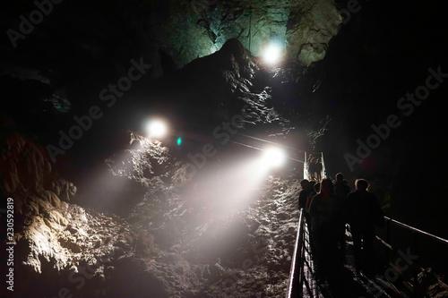 Obraz na plátně Underground caves of Abkhazia