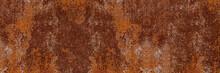 Panorama Of Grunge Rusted Meta...