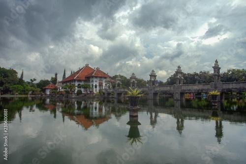 Photo Stands Bali Taman Ujung Water Park