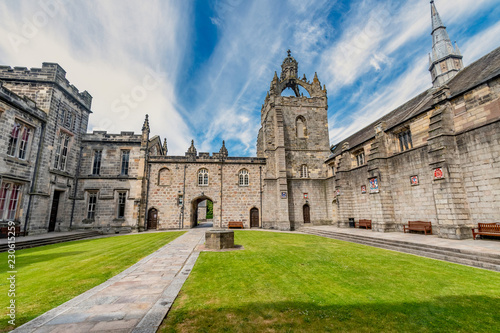 Aberdeen University King's College building Canvas Print