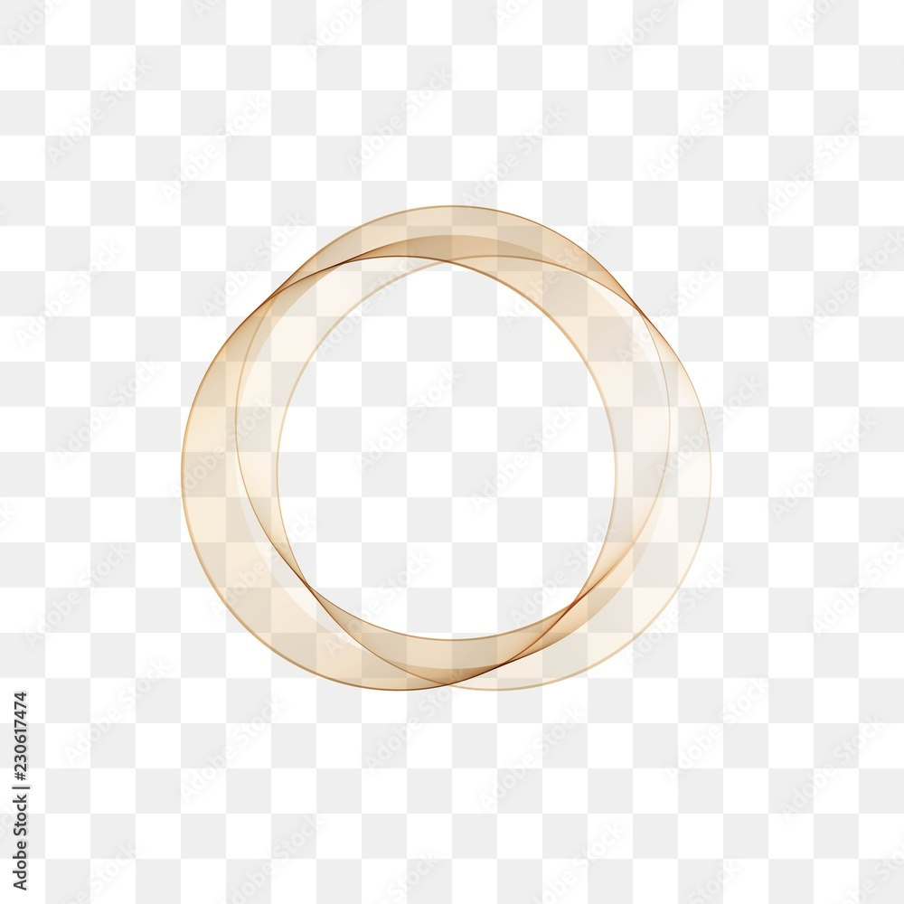 Abstract circle background, vector illustration.golden abstract vector circle