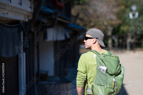 Fotografie, Obraz  日本を訪れた観光客