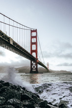 Golden Gate Bridge View From C...