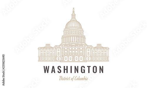 Linear Capitol Washington DC