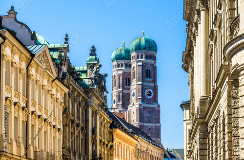 Famous Munich Cathedral - Liebfrauenkirche