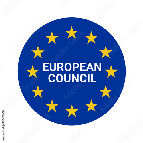 Foto  European Council symbol illustration