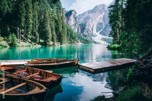 Beautiful view of Lago di B...