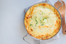 Cheesy Scalloped Potatoes Or P...