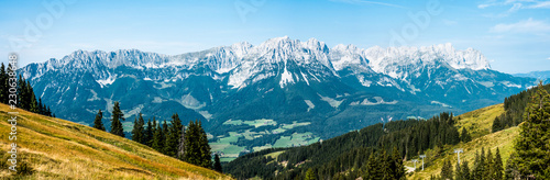 Stickers pour portes Alpes wilder kaiser mountain