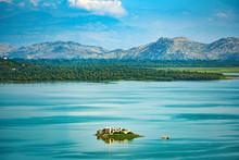 Landscape Of Skadar Lake In Mo...
