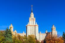 The Main Building Of Lomonosov...