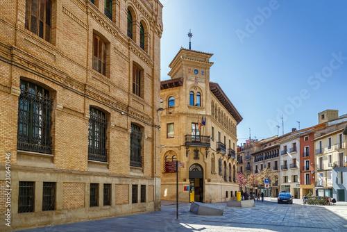 Street in Huesca, Spain