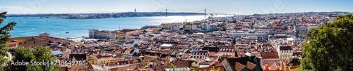 In de dag Mediterraans Europa Lisbon Portugal viewed from the Fernandina Wall