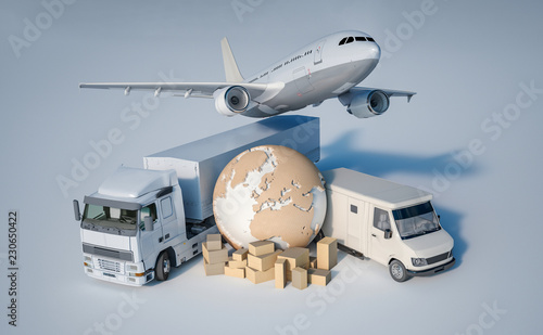Fotografia, Obraz Worldwide transportation
