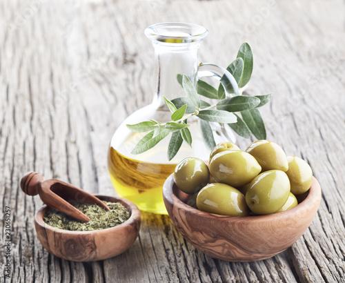 Oilve oil with oregano