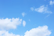 View of beautiful blue sky with clouds