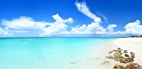 Turks & Caïcos, Grace Bay - peaceful and quiet beach