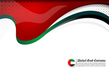 United Arab Emirates Banner Ba...