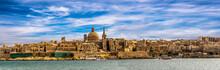 Panorama Skyline Valletta Malta