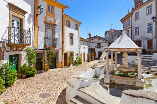 Fonte da Vila aka Village or Town Fountain in the Jewish Quarter or Ghetto built during the Inquisition Canvas Print
