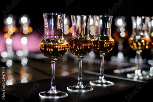Fotografia Whiskey tasting, whiskey glass