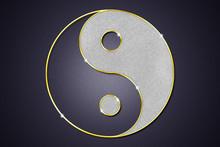 Yin Und Yang  Schriftzeichen Schmuck Anhänger Bling Bling