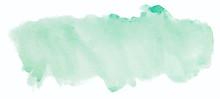 Green Watercolor Texture