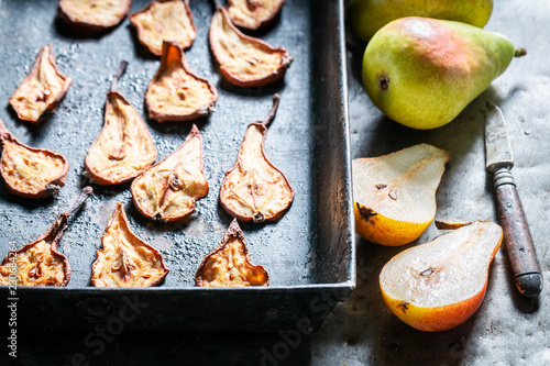 Enjoy your sun dried pears made of fresh fruits