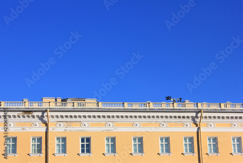 Modern Old Building Classical Architecture Facade Of Old Historical