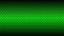 Honey Comb Green Background