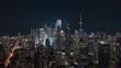 Big City Skyline at Night in Toronto