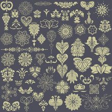 Vector Image. Indian Ornament Pattern.Can Be Used For Designer Wallpapers, For Textile,
