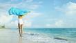 Carefree Girl Loving Island Lifestyle