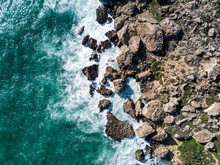 Aerial Drone Photograph Of Wav...