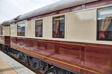 Old Luxury Train At Ronda Trai...