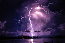 Catatumbo Lightning In Venezuelan- Relampago Del Catatumbo En Venezuela