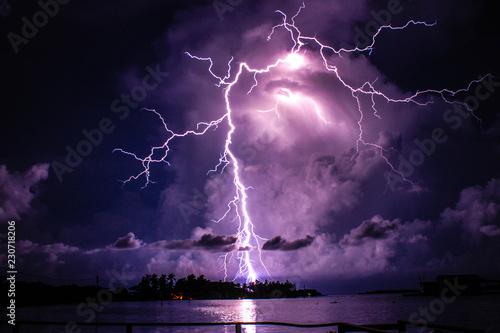 Fotografia catatumbo lightning in venezuelan- Relampago del catatumbo en Venezuela