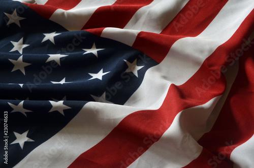 Foto op Aluminium Centraal-Amerika Landen Flag USA background