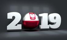 2019 Happy New Year Background...