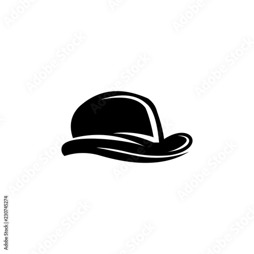 527527a9b99 Hat logo vector abstract shape template modern - Buy this stock ...