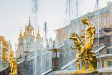 PETERHOF, RUSSIA, OCTOBER 13, ...
