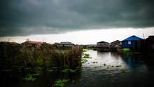 Stilt Houses In The Village Of Ganvie On The Nokoue Lake, Benin