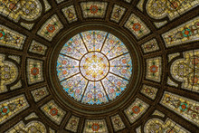 Dome Of Chicago Cultural Center