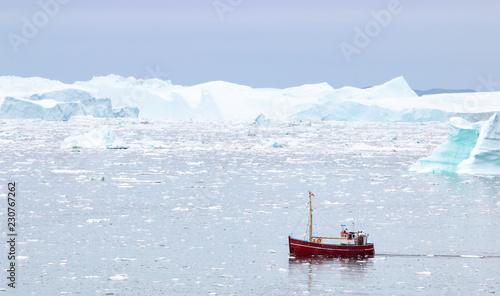Fotobehang Arctica Diskobucht Grönland