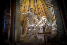 Rome Italy. Famous Sculpture B...