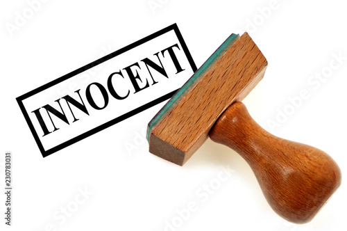 Canvastavla Tampon encreur innocent
