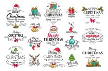 Christmas Decoration Labels