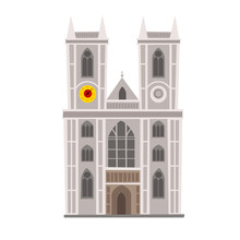 Westminster Abbey Vector Illus...